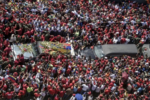 Funeral of Hugo Chavez